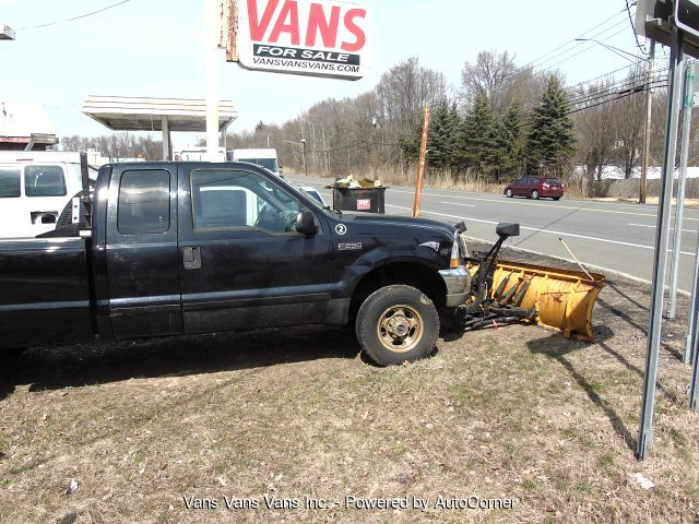 2002 Ford F-250 SD Lariat SuperCab 4X4 SNOW PLOW